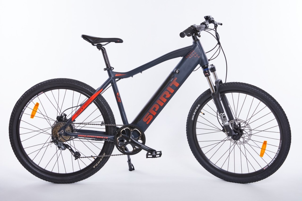 Elektrokolo MTB II 27,5 black/red, integr.bat. 17Ah